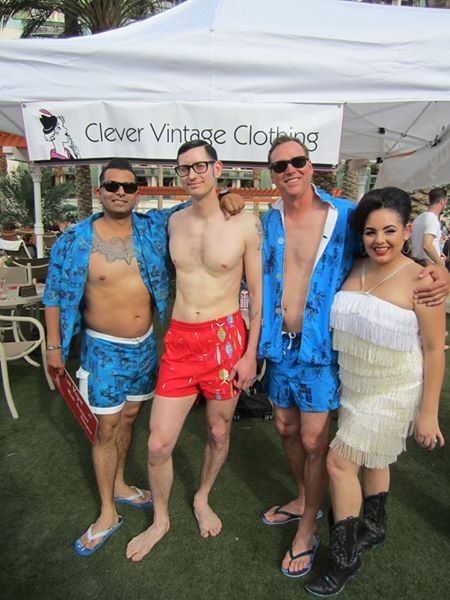 VLV 17 mens swimwear contest