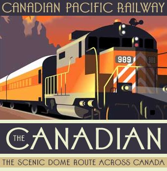 Canadian Pacific Railway vintage ad