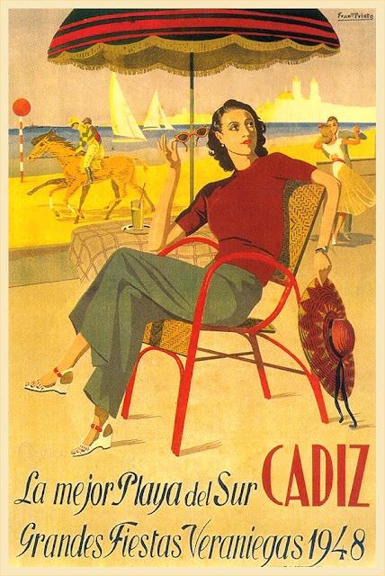 Spain travel poster 1948