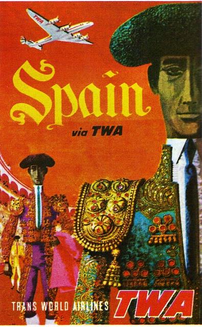 Spain TWA Poster