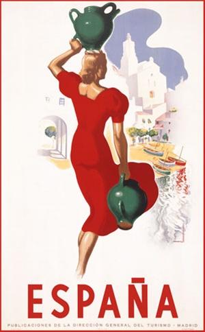 Viva La Espana Vintage Travel Posters Of Spain The