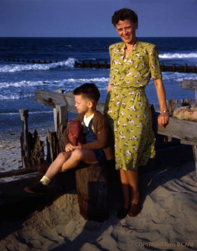 1940s woman's dress