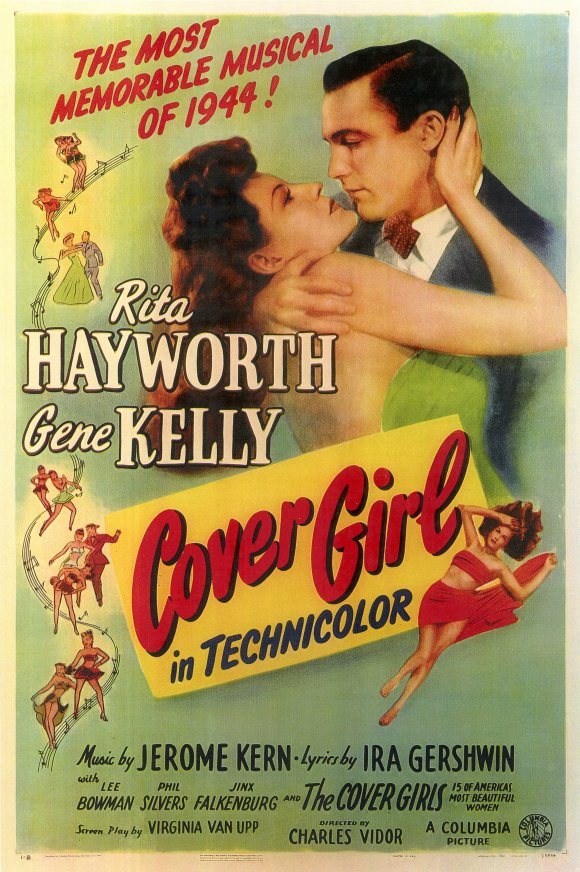 Cover Girl Movie Poster 1944