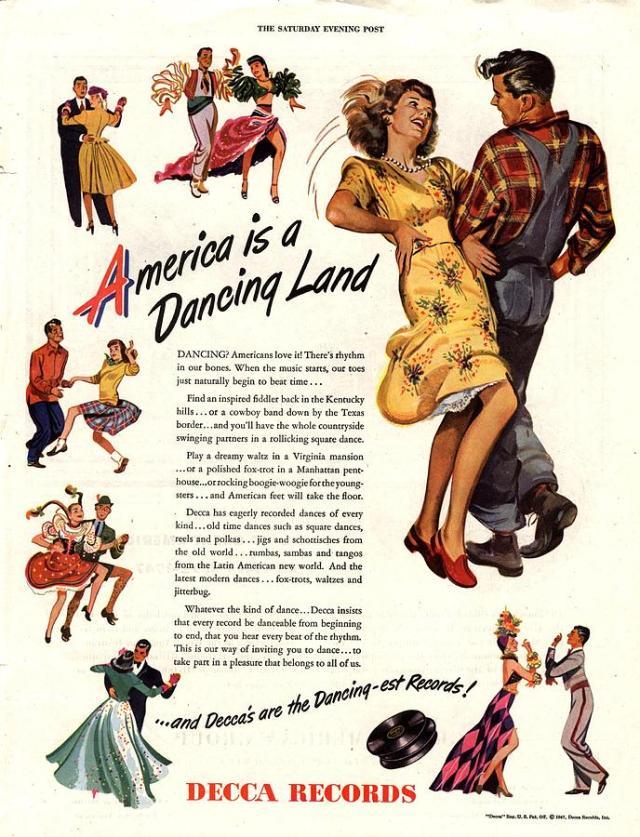 1940s vintage ad