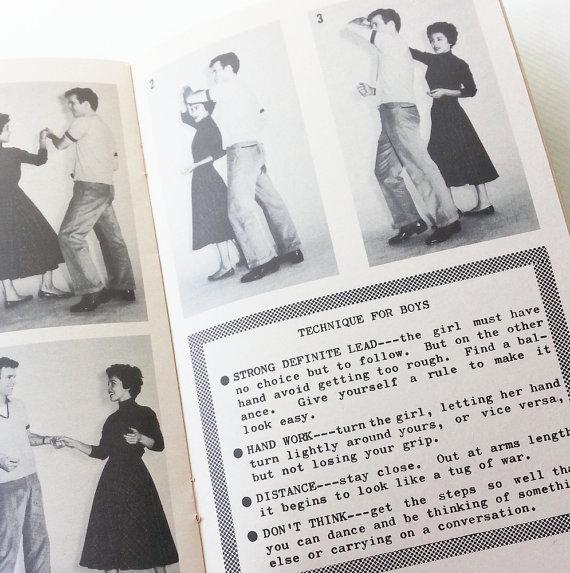 vintage dance instruction