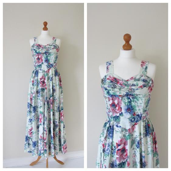 1940s womans dress