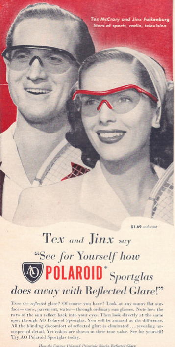 Vintage Polaroid Ad