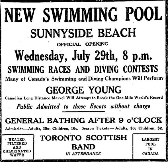 1920s Sunnyside Pool