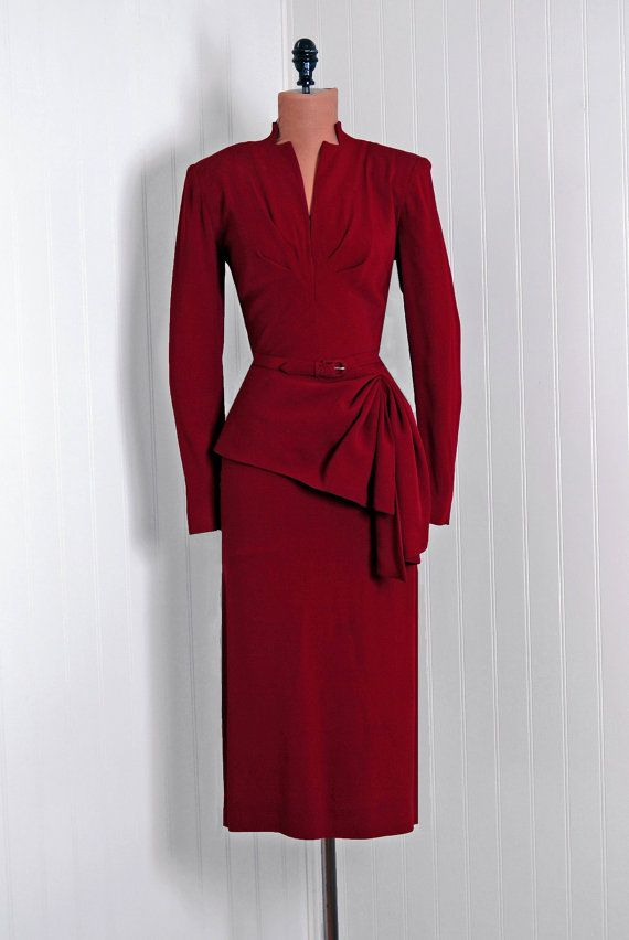 Vintage 50s Prom Dress Pinterest