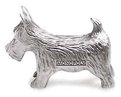 Monoploy Scottie Dog figure