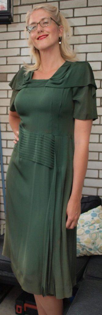1940s Vintage Dress from JackLux Vintage Toronto