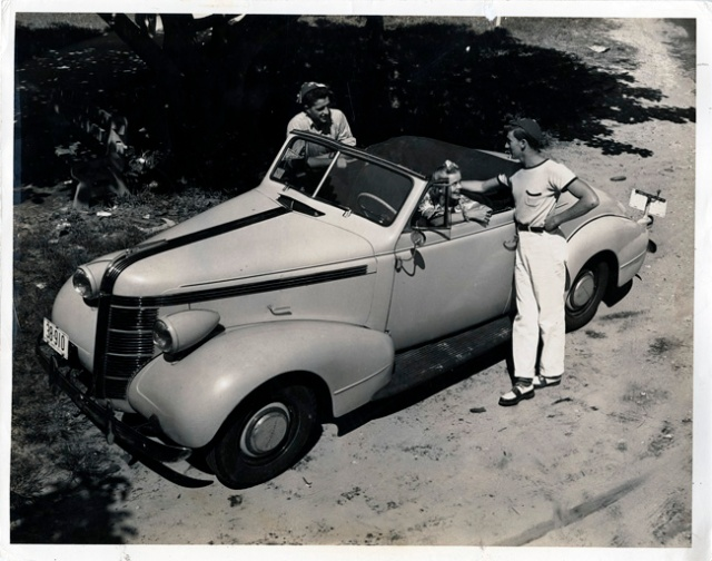 1940s vintage car
