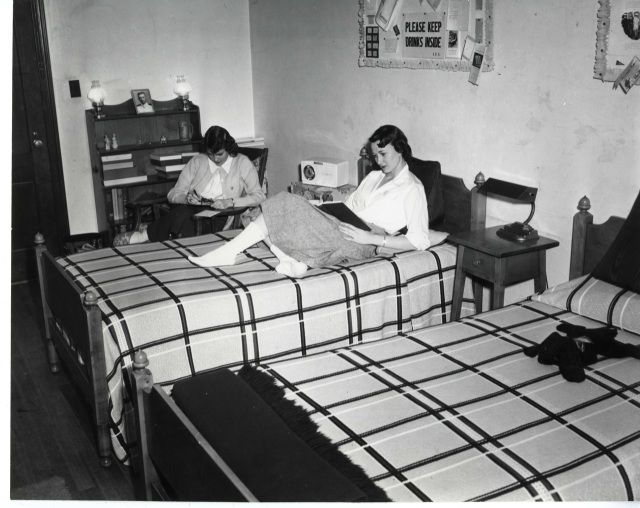 1940s dorm life