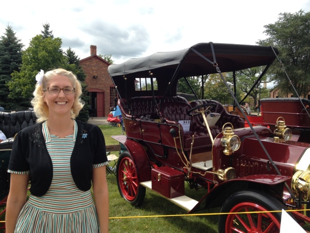 Old Fashion Car Show-Greenfield Village