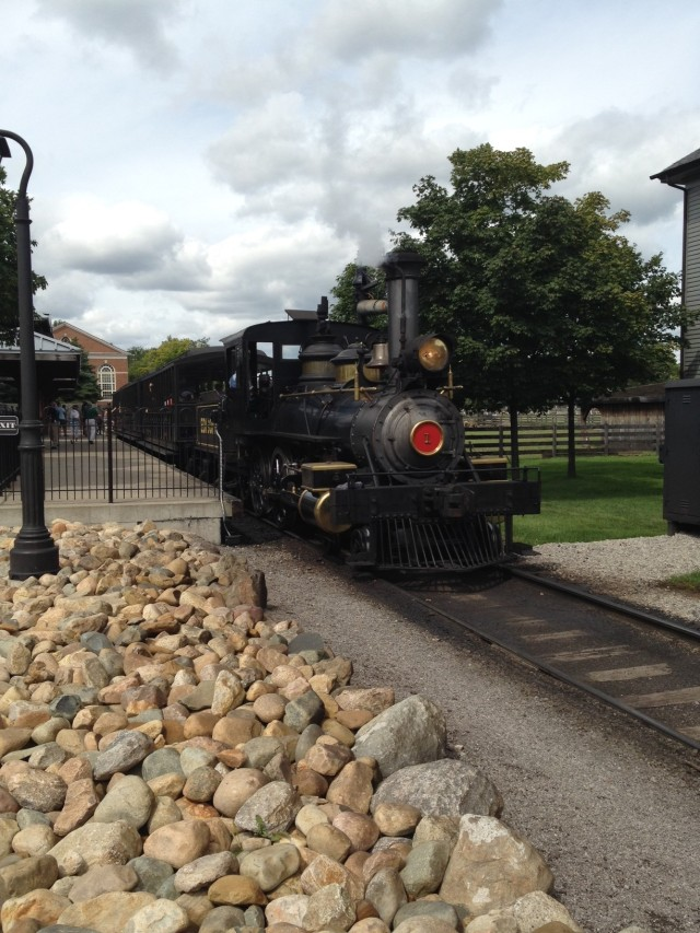 Vintage Train-Greenfield Village