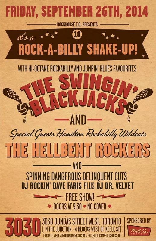 Rockabilly bands in Toronto