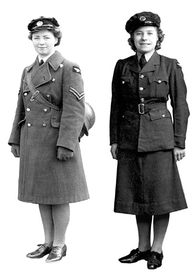 """WW2 Air Force Uniforms for Canadian Women""-Guest Blog ... Royal Air Force Uniform Ww2"