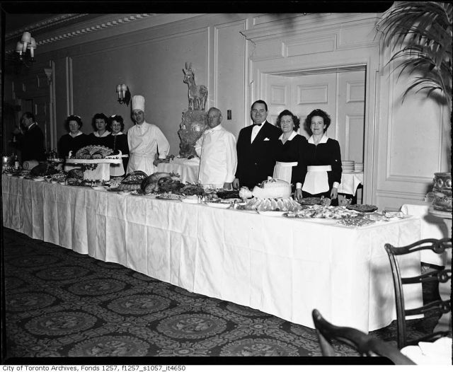 1940s Royal York Hotel Toronto