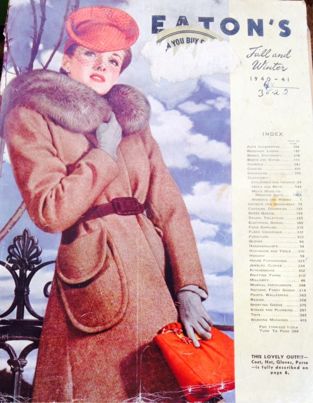 1940s Eatons Catalogue