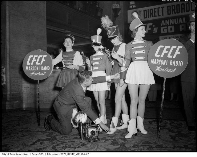 1956 Grey Cup in toronto Royal York Hotel