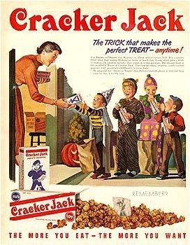 Cracker Jack Halloween-1950s
