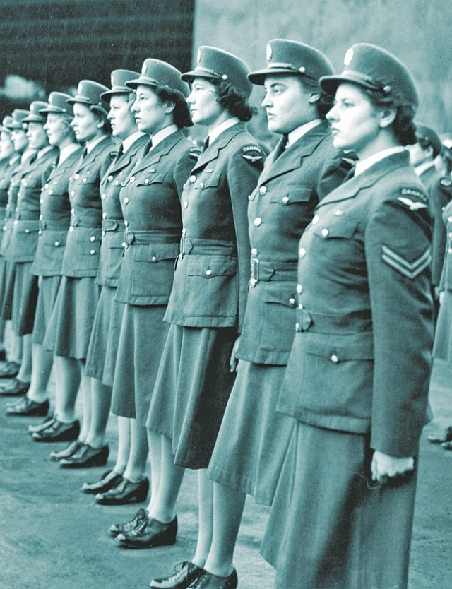 ww2 women in the service-WD's