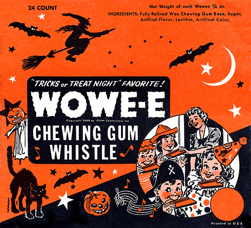 Wowee Halloween Whistles - 1940's
