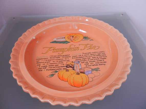 Vintage Plate for Pies