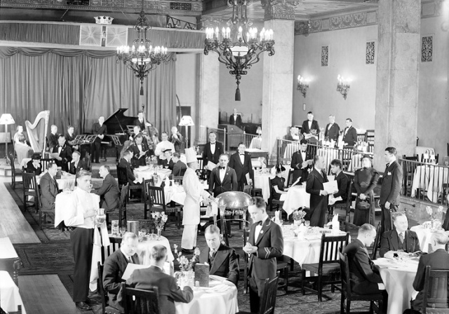 Imperial Room Royal York Hotel toronto vintage image
