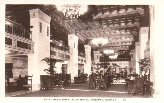 Postcard Royal York Hotel Toronto