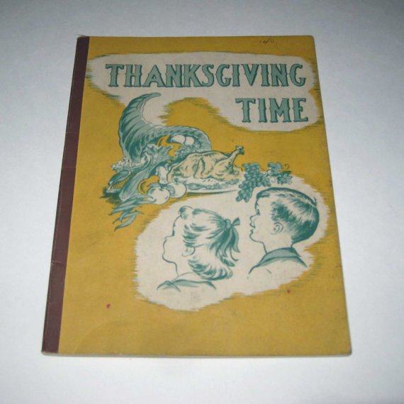 1950s childrens book thanksgiving