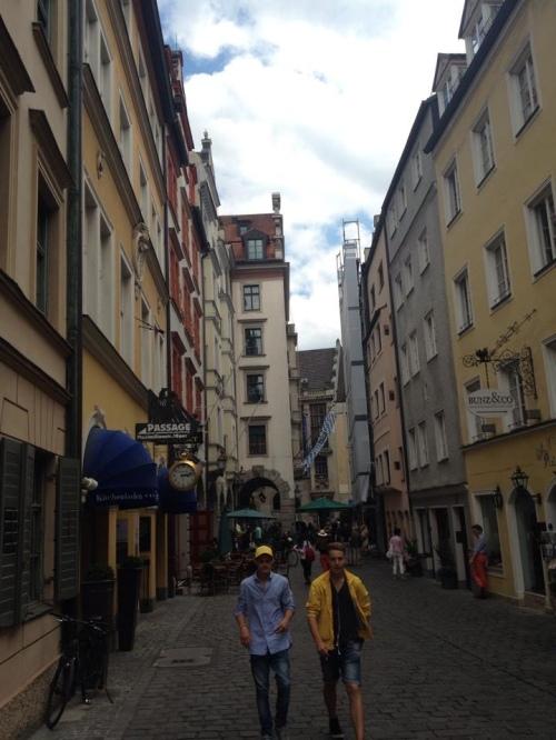 Munich city street