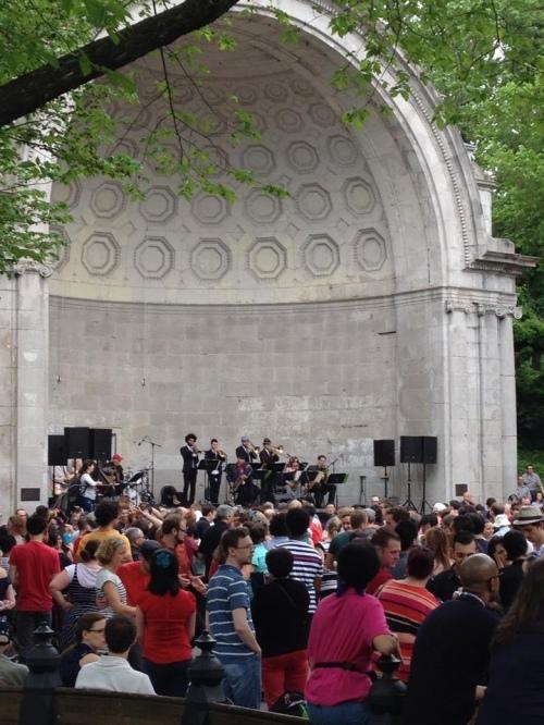 Lindy hop in Central Park Frankie 100