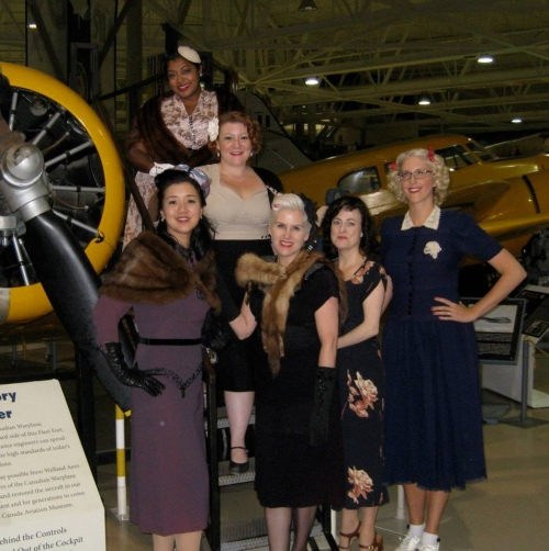 Swing out to victory- Hamilton warplane museum