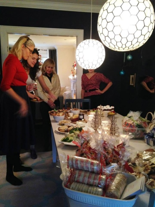 Cookie exchange Christmas party